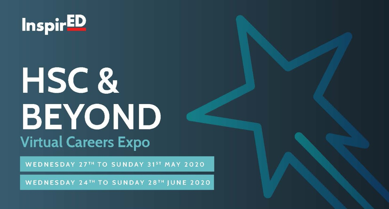 flyer for HSC and Beyond Virtual Careers Expo